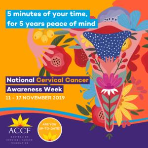 Australia Cervical Cancer Foundation(ACCF) National cervical Awareness Week_Supporter tile Social Media Tile
