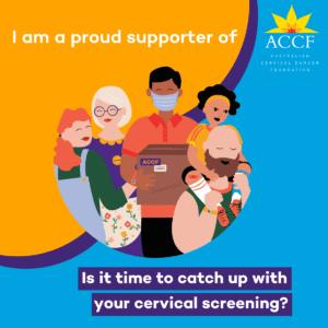 National Cervical Cancer Awareness Week - Social Media Support Tile